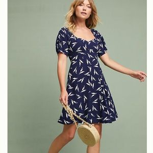 Maeve from Anthropologie Fern Ruched Dress